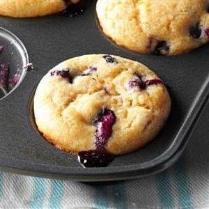 Orange-Berry Yogurt Muffins Recipe