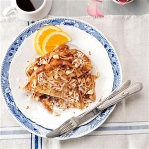 Orange-Coconut French Toast Recipe