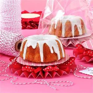 Orange Cranberry Pound Cake with Vanilla Glaze Recipe