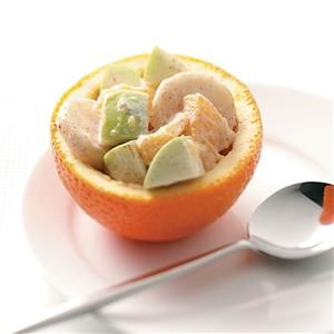 Orange Fruit Cups Recipe