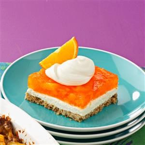 Orange Gelatin Pretzel Salad Recipe