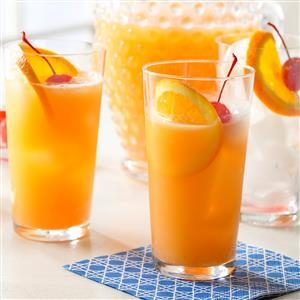 Orange Juice Spritzer