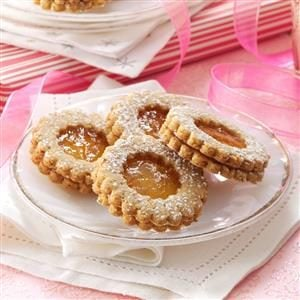 Orange Marmalade Linzer Tarts Recipe