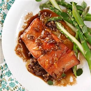 Orange-Pecan Salmon