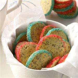 Orange Poppy Seed Cookies Recipe