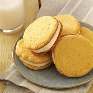 Orange Sandwich Cookies