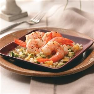 Orange Shrimp Mojo