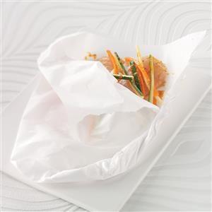 Orange Tilapia in Parchment Recipe