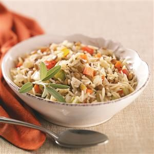 Orzo-Lentil Rice Recipe