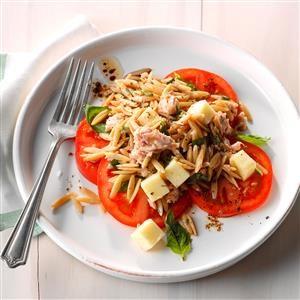 Orzo-Tuna Salad with Tomatoes