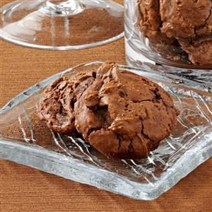 Outrageous Chocolate Mint Cookies Recipe