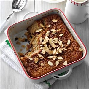 Overnight Baked Oatmeal Recipe