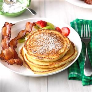Overnight Pancakes Recipe