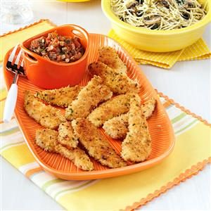 Panko Chicken with Fresh Marinara Recipe