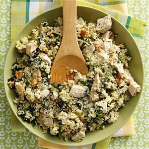 Parmesan Chicken Couscous Recipe