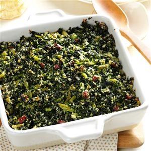 Parmesan Kale Casserole Recipe