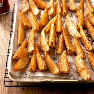 Parmesan Potato Wedges Recipe