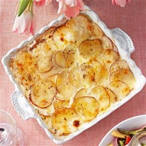 Parmesan Potatoes Au Gratin Recipe