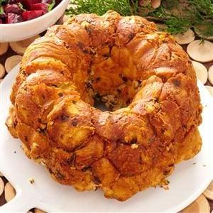 Parmesan-Walnut Bubble Bread Recipe