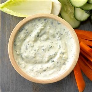 Parmesan Yogurt Dip Recipe
