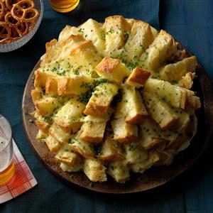 Watch Us Make: Party Cheese Bread