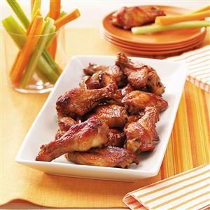 Party Chicken Wings Recipe