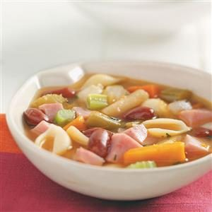 Pasta and Bean Soup Recipe
