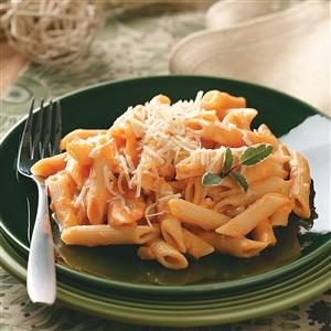 Pasta with Creamy Sweet Potato Sauce Recipe