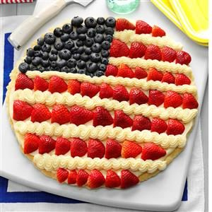Patriotic Pizzas Recipe
