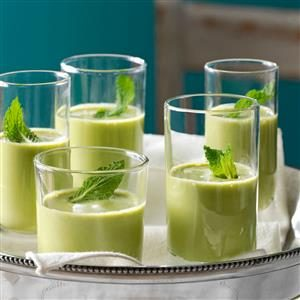 Pea Soup Shooters Recipe