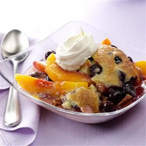 Peach and Berry Bliss Cobbler Recipe