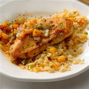 Peach Salsa Chicken Recipe