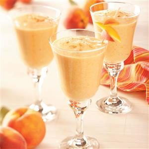 Peachy Buttermilk Shakes Recipe