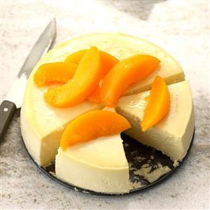 Peachy Summer Cheesecake Recipe