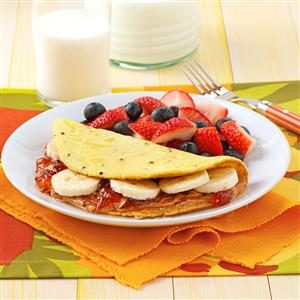 Peanut Butter and Jelly Omelet Recipe