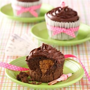 Peanut Butter Chocolate Cupcakes Recipe