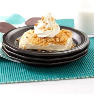 Peanut Butter Cream Dessert Recipe