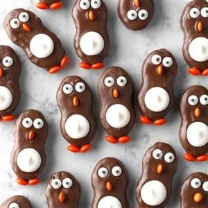 Peanut Butter Penguins
