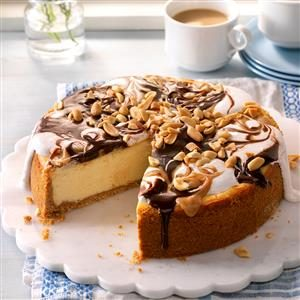 Peanut Butter Rocky Road Cheesecake Recipe