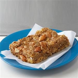 Peanut Butter Snack Bars Recipe