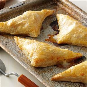 Pear, Ham & Cheese Pastry Pockets Recipe