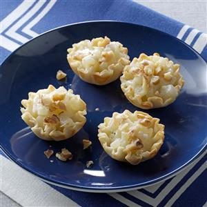 Pear-Blue Cheese Tartlets Recipe