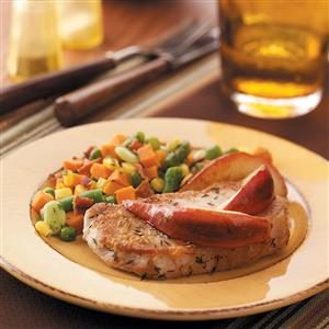 Pear Pork Chops Recipe