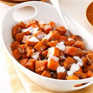 Pecan-Coconut Sweet Potatoes Recipe