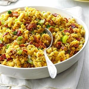 Pecan-Corn Bread Dressing