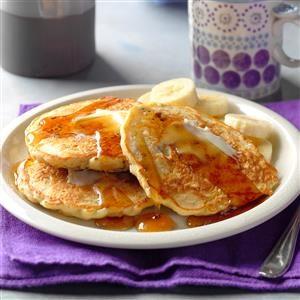 Pecan-Oatmeal Pancakes Recipe