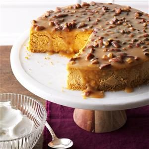Pecan Pumpkin Cheesecake Recipe