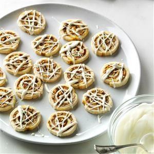 Pecan Pumpkin Pie Pinwheels Recipe