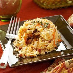 Pecan Rice Pilaf Recipe