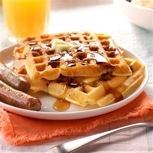 Pecan Waffles